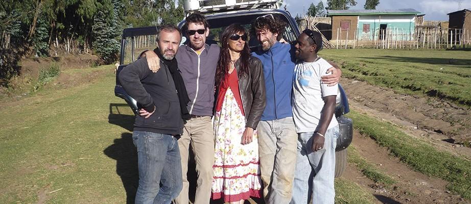 Tournage en Ethiopie