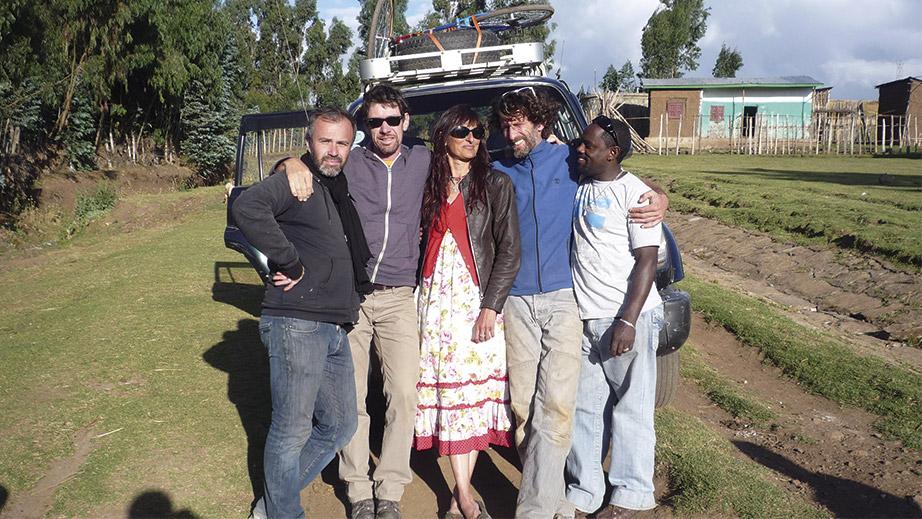 Tournage en Ethiopie realisateur laurent bouit